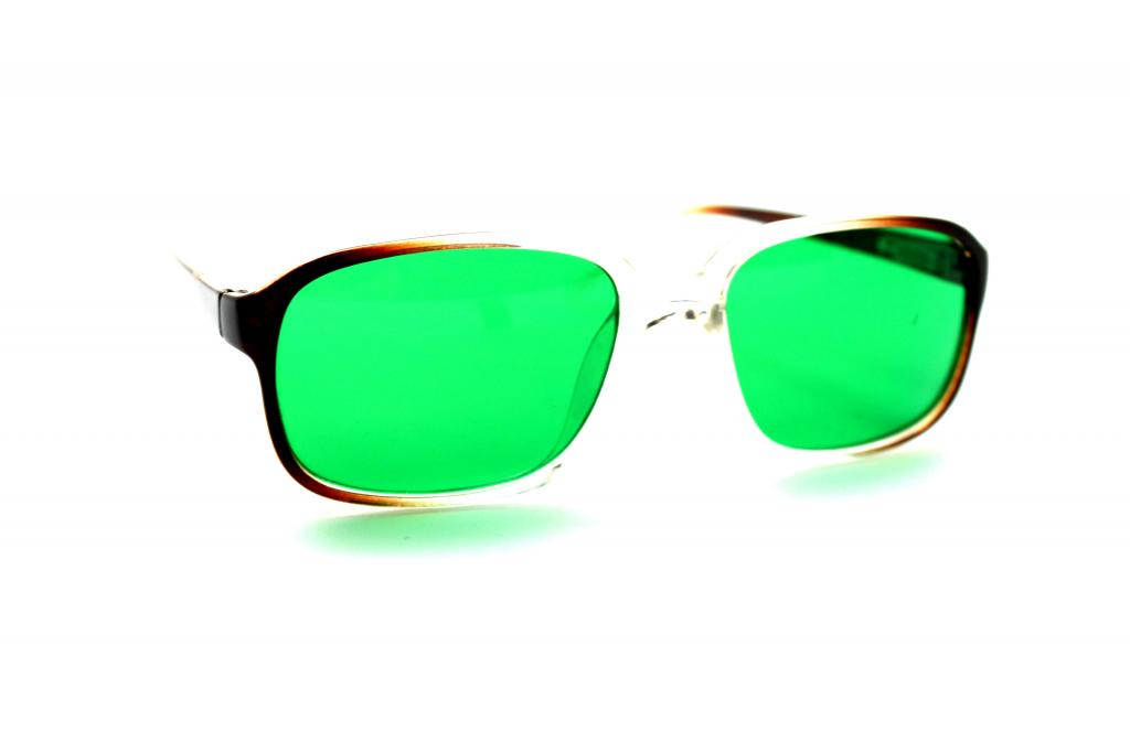 Очки при глаукоме зеленого цвета: помогут или нет
