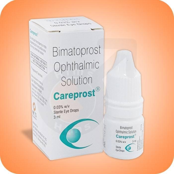 Препарат для глаз биматопрост