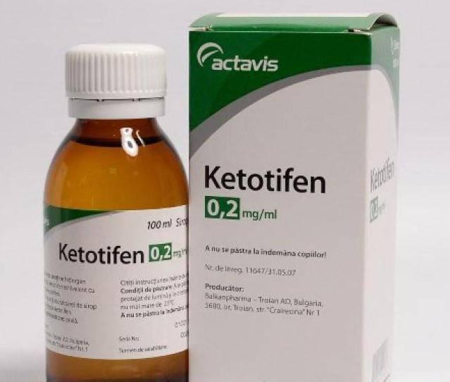 Глазные капли кетотифен: инструкция по применению