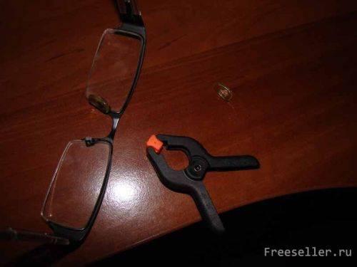 Возможен ли ремонт оправы очков своими руками?