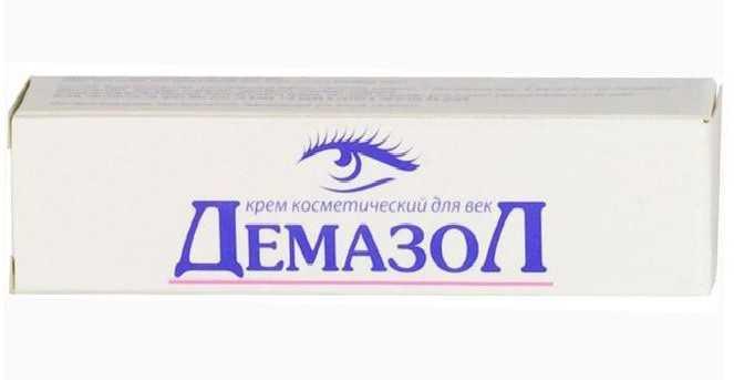 Демазол крем для век: состав, инструкция, лечение демодекоза