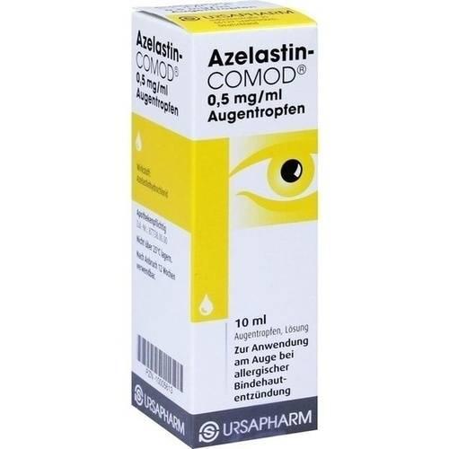 Глазные капли азеластин: аналоги, инструкция по применению и отзывы