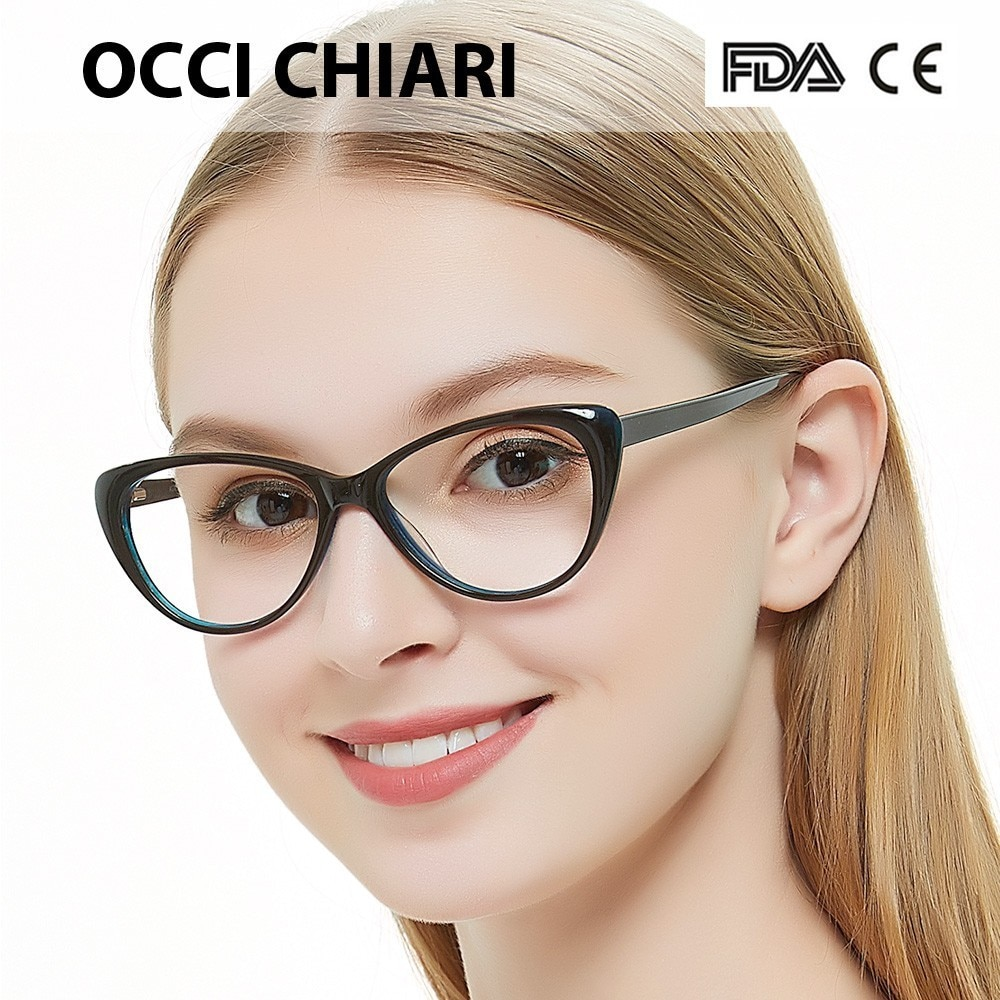 Кому идут очки «кошачий глаз»?