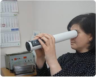 Прибор для улучшения зрительного аппарата ручеек
