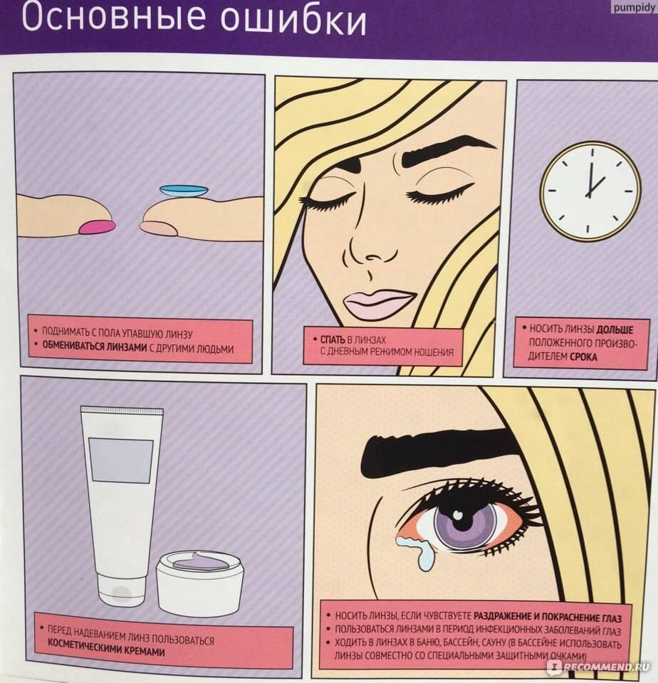 Срок годности линз для глаз: сколько можно носить контактные, период службы в закрытой упаковке, а также разница для глаз при ношении цветных