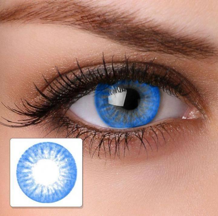 Вредны ли цветные линзы для здоровых глаз