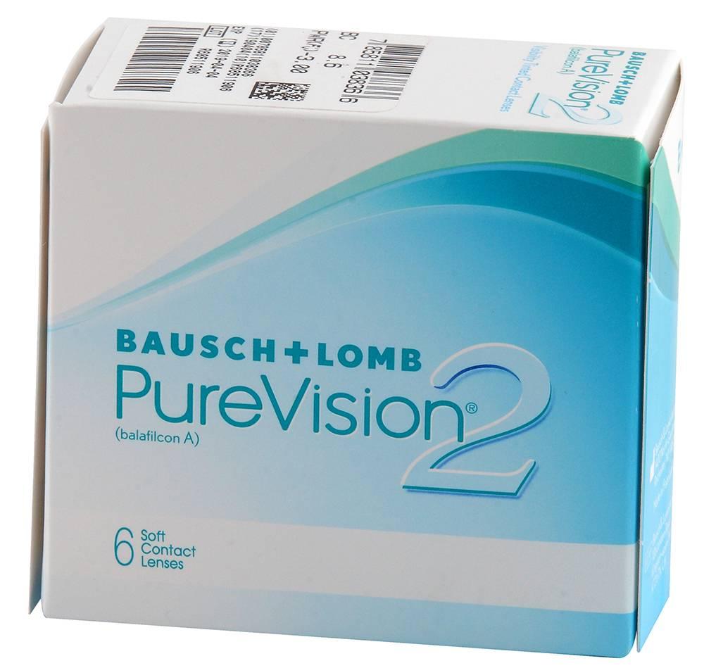 Pure vision 2 hd - обзор контактных линз, отзывы