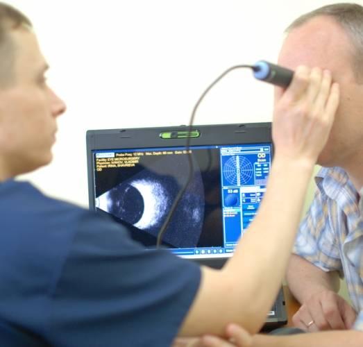 Эхобиометрия глаза - что это, как и для чего проводится