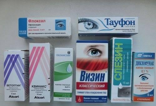 Глазные капли от катаракты - список самых эффективных