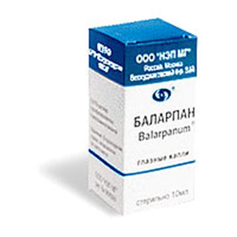 Глазные капли баларпан и баларпан-н: инструкция по применению oculistic.ru