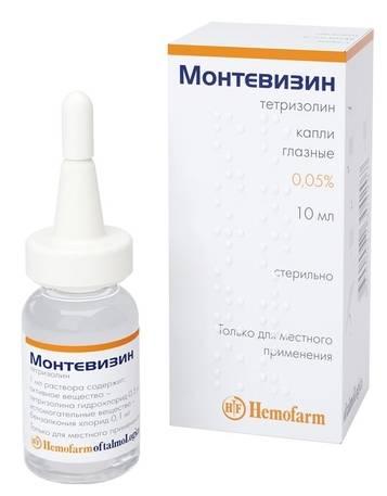 Купить монтевизин капли глазные 0,05% 10мл цена от 68руб в аптеках москвы дешево, инструкция по применению, состав, аналоги, отзывы