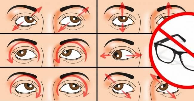 Зарядка для глаз при глаукоме