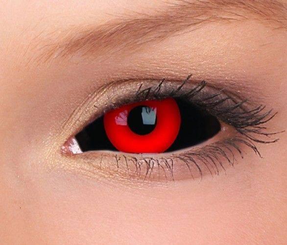 Черные линзы на весь глаз: фото, как носить, сколько стоят