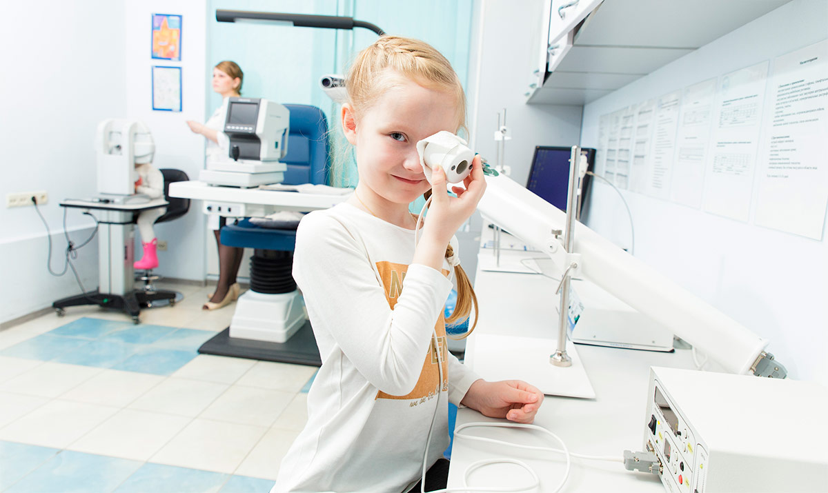 Аппаратное лечение миопии у детей и взрослых