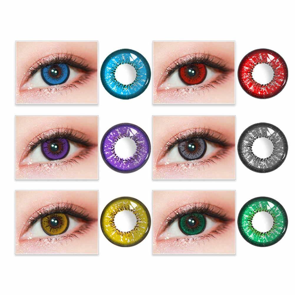Цветные линзы для глаз - обзор, фото, отзывы