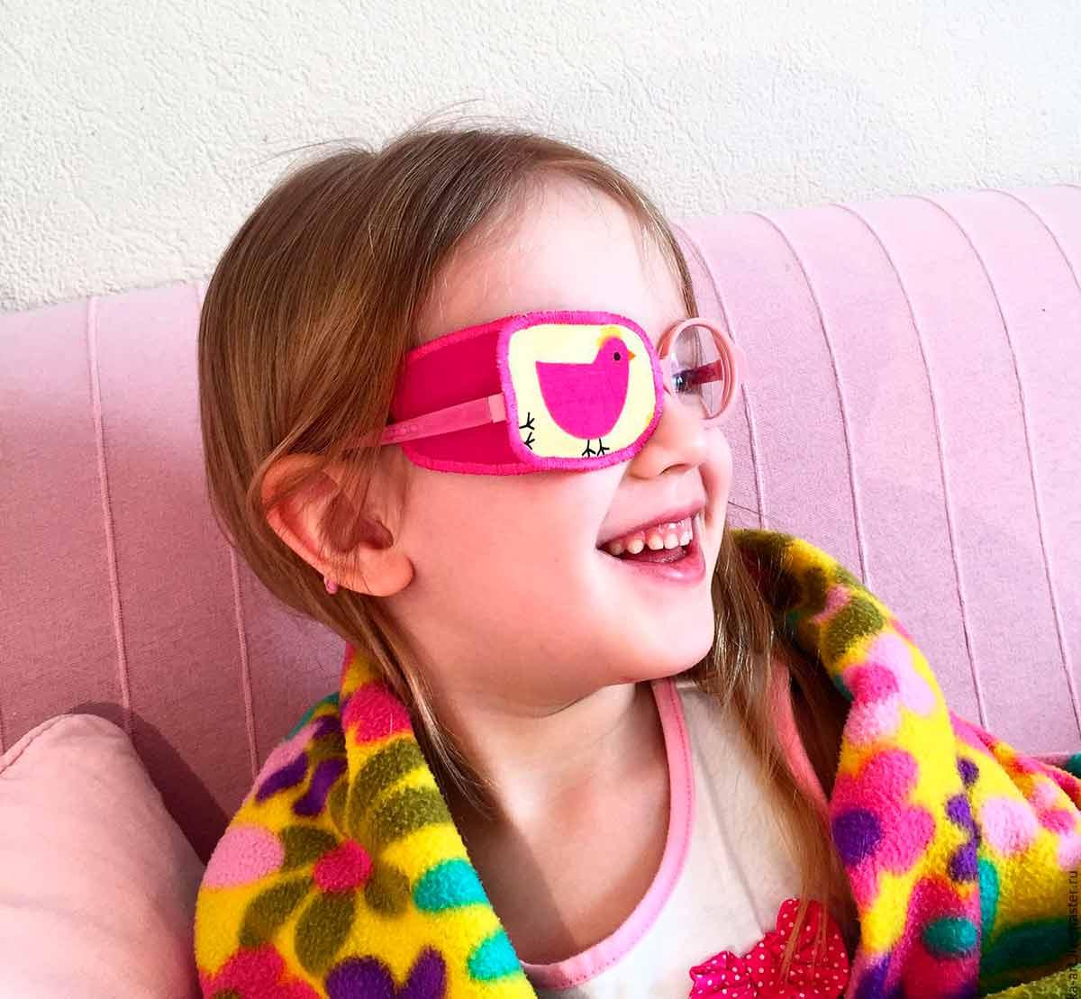 Как пользоваться детским пластырем для глаз от косоглазия