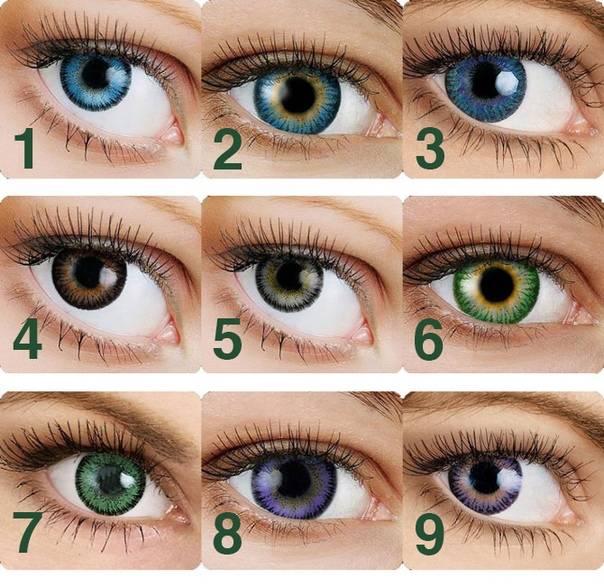 Зеленые линзы на карие глаза. цветные линзы для карих глаз