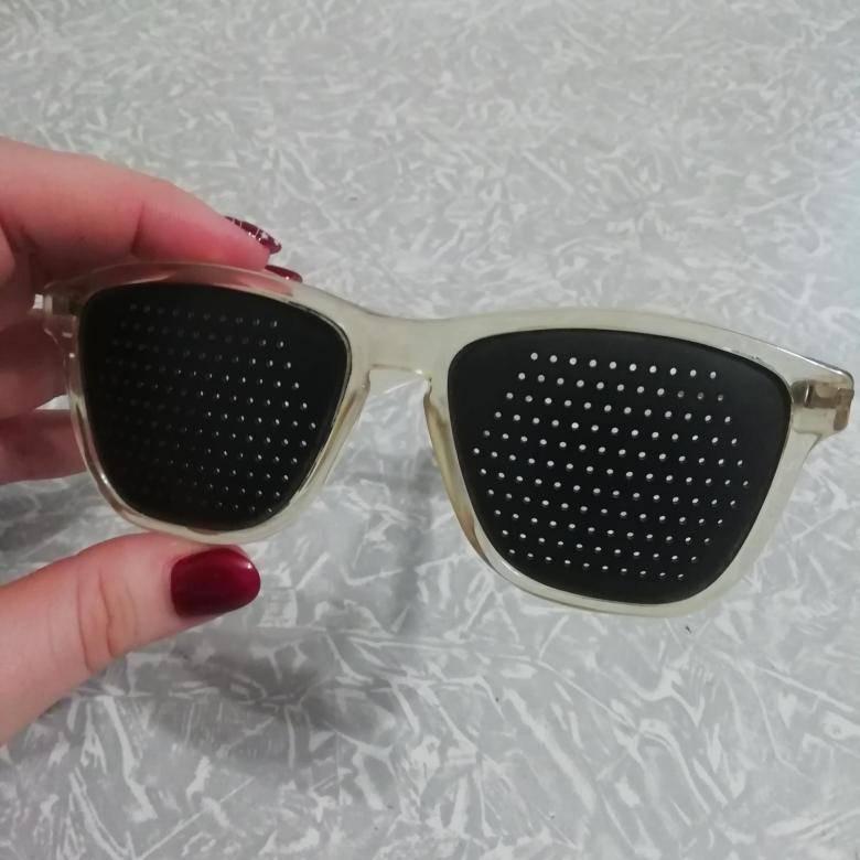 Очки тренажеры для глаз лазер вижн