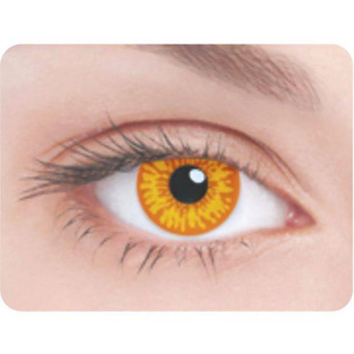 Помогут произвести неизгладимое впечатление – декоративные линзы для глаз
