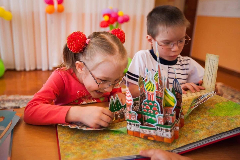 Детские сады для детей с нарушением зрения в москве