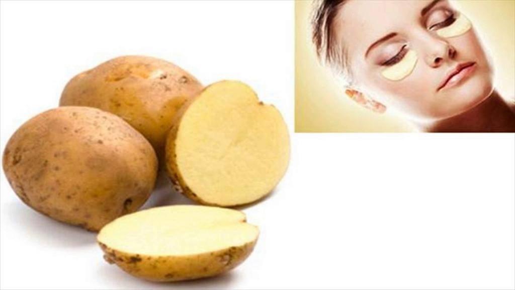 Маска из картофеля для лица: картофель от синяков под глазами