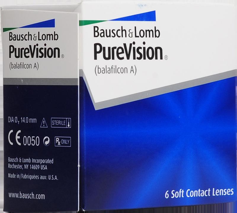 Линзы pure vision от bausch lomb - аксессуар активных и модных!