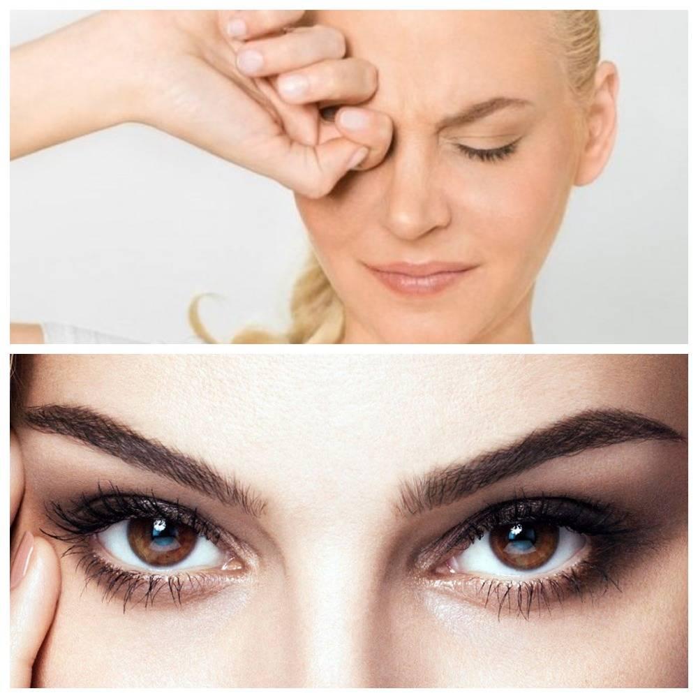 Болят глаза частое моргание