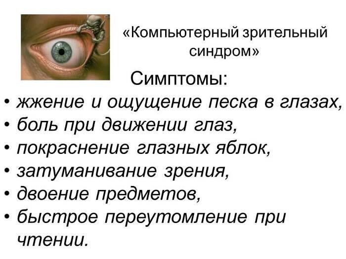 Тяжесть в глазах причины - ваши глаза