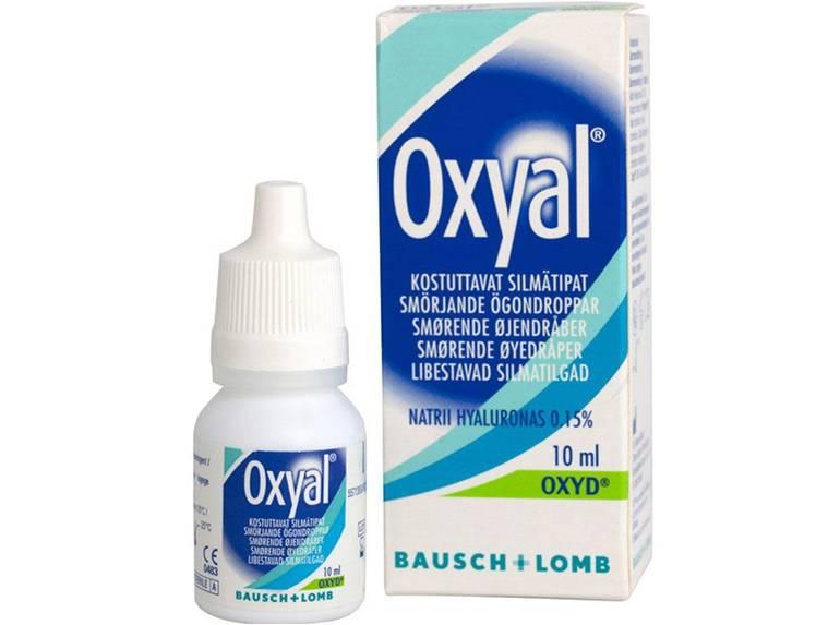 Увлажняющие капли для глаз при ношении линз с гиалуроновой кислотой без консервантов: рейтинг