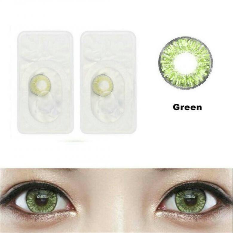 Как выбрать контактные линзы зеленого цвета