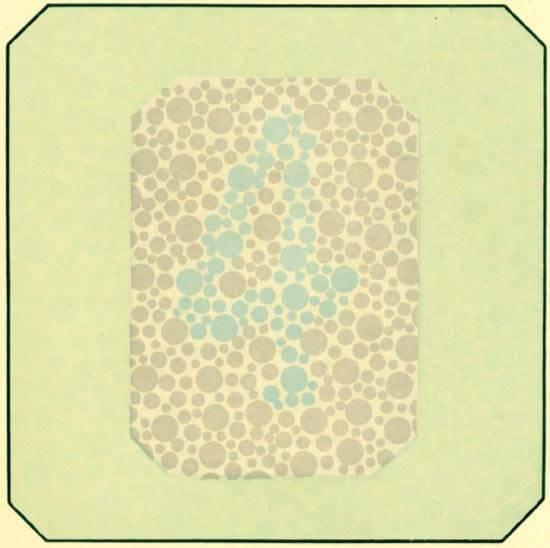 Цветовое зрение: исследование, врожденные аномалии, лечение