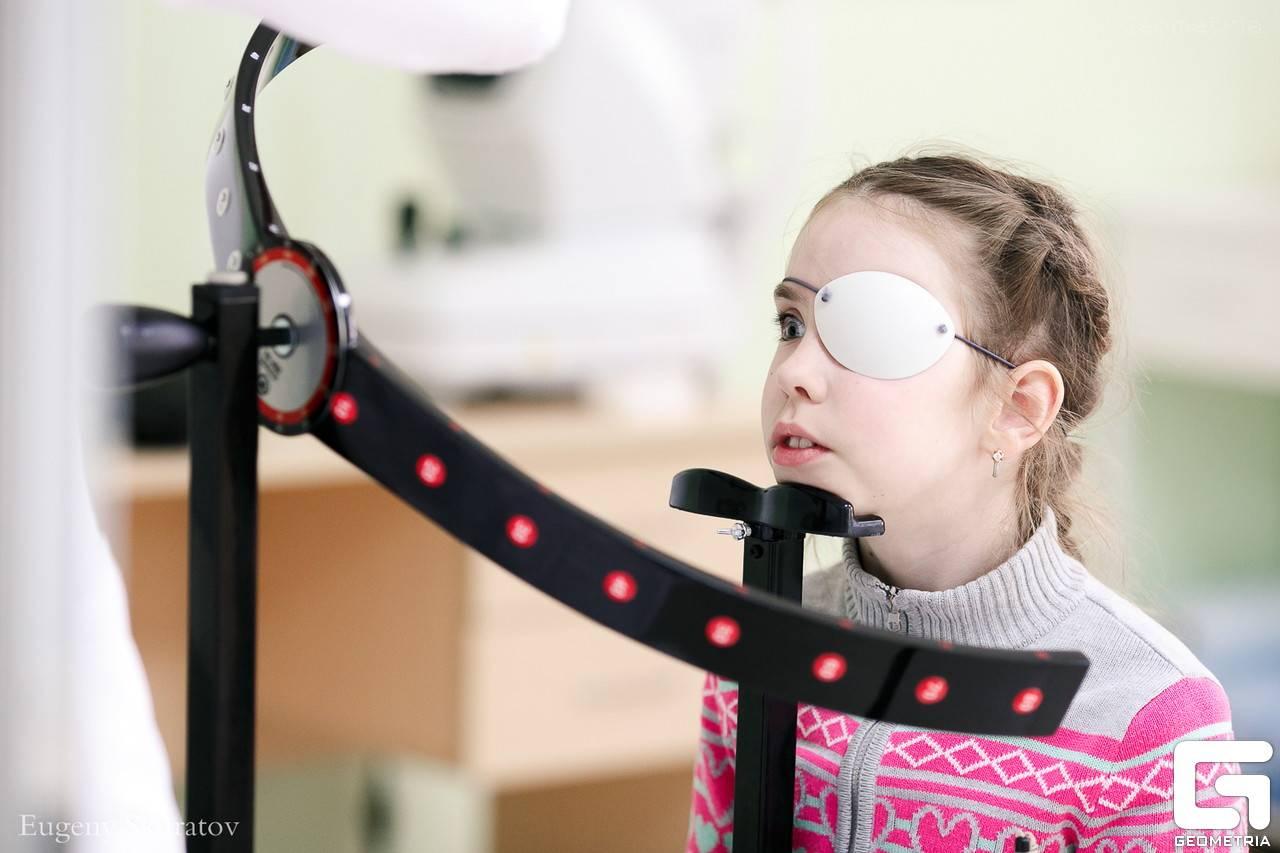 Особенности аппаратного лечения зрения у детей