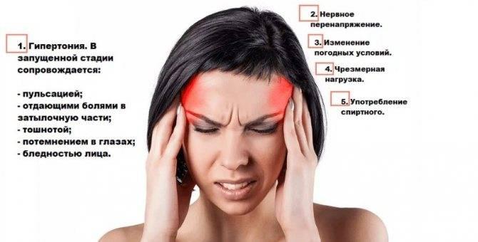 Постоянная боль в висках и ещё причины, способы лечения