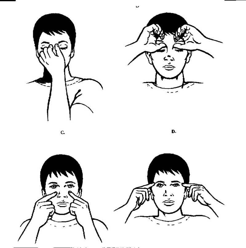 Точечный массаж глаз для улучшения зрения александра курчатова