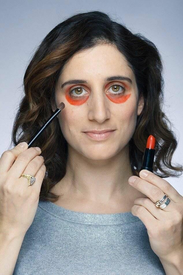 Как убрать темные круги под глазами? (маскировка.пошагово)