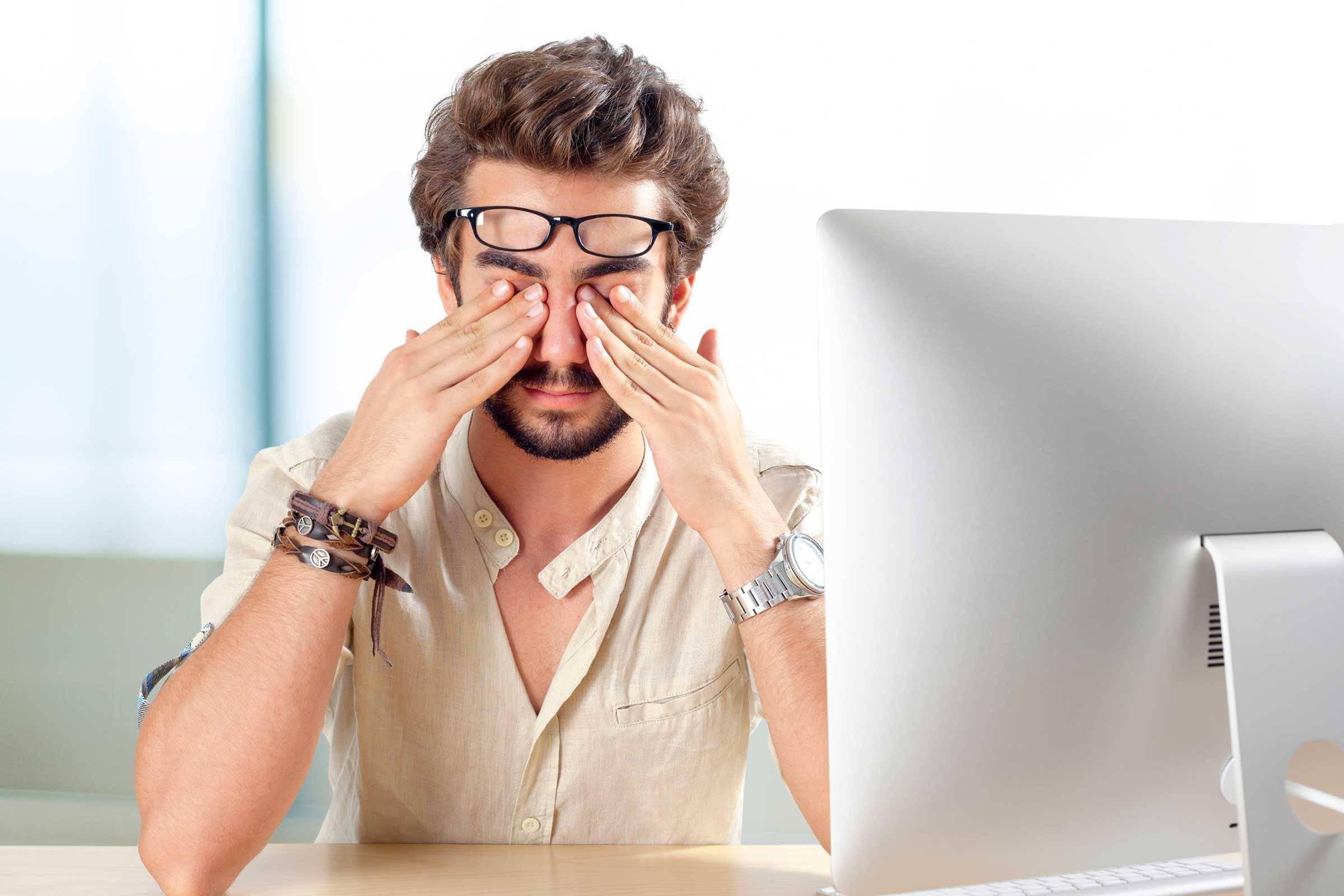 Болят глаза от компьютера