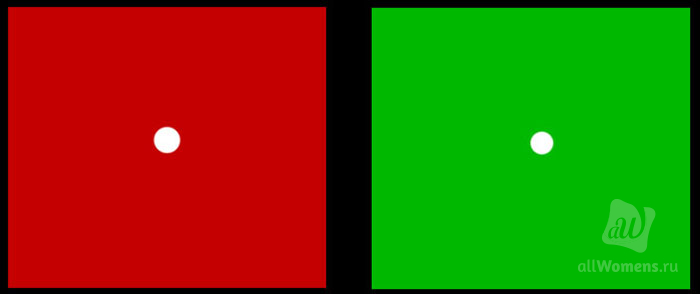 Восприятие цвета. физика