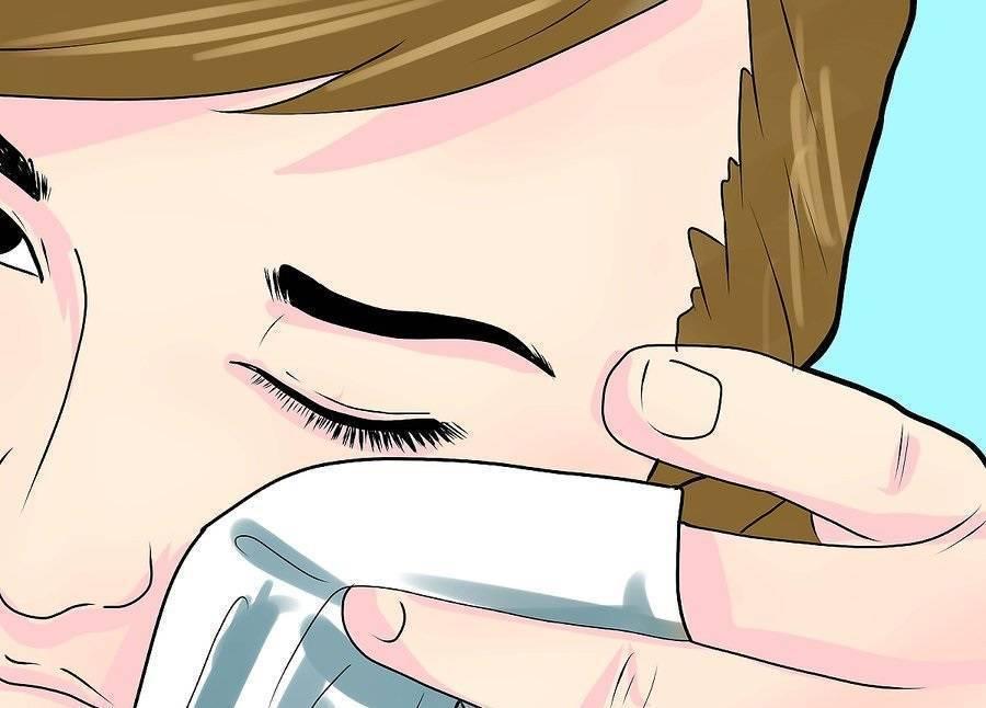 Как закапывать капли в глаза самому себе