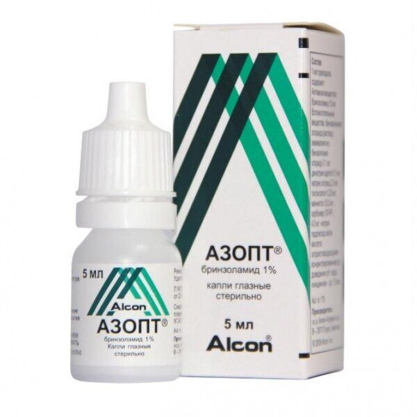 Азопт - препарат для лечения глаукомы, снижающий внутриглазное давление
