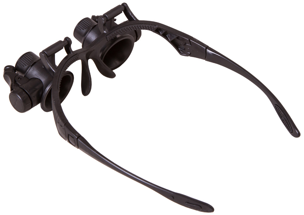Налобные лупы: увеличительные стекла без подсветки и с ней с креплением на голову. выбираем лупу на лоб