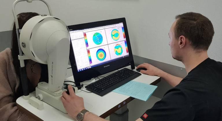 Пахиметрия роговицы глаза (измерение толщины): ультразвуковая и когерентная, норма и отклонения