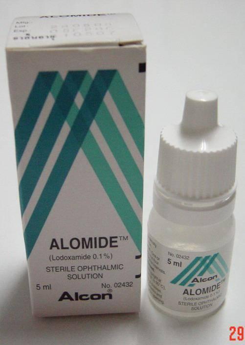 Аломид, капли для глаз: инструкция по применению, аналоги, цена и отзывы