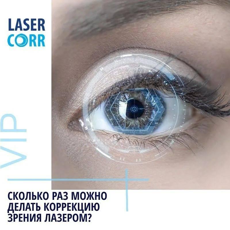 Можно ли повторно делать лазерную коррекцию зрения
