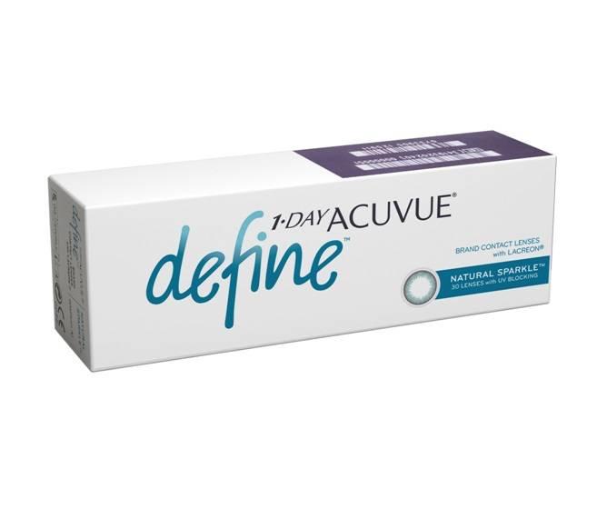 1 day acuvue define - обзор линз, отзывы