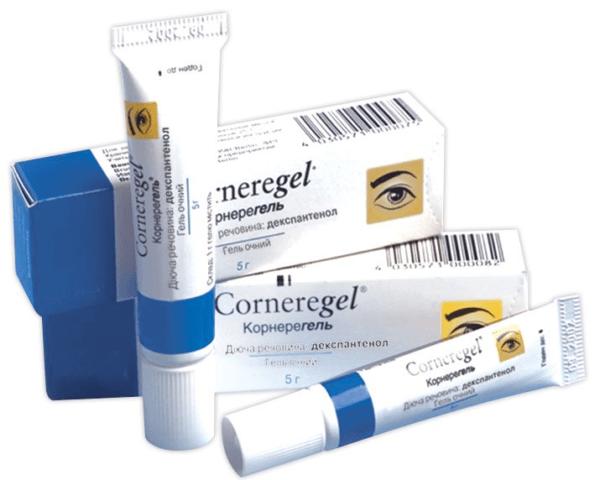 Корнерегель - глазной гель