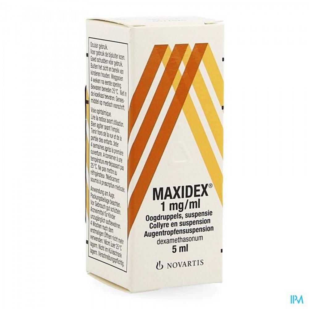 Глазные капли максидекс