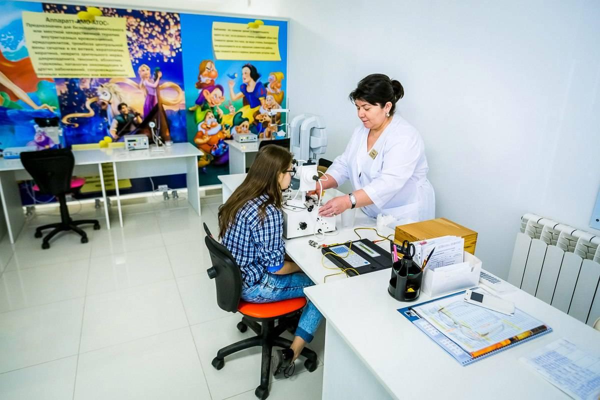 Кабинет охраны зрения - что это, какие процедуры проводят