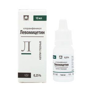 Хлорамфеникол аналоги | лечение глаз
