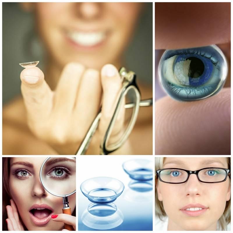 Использование контактных линз при близорукости