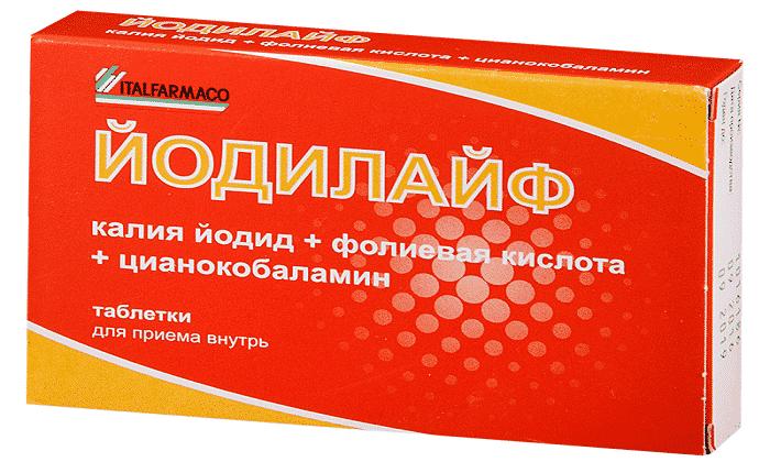"""Витаминно-минеральный комплекс """"калия йодид"""""""